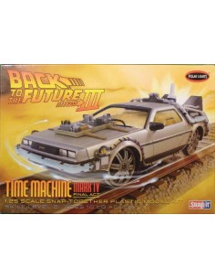 Back To the Future III Delorean Time Machine Mark IV