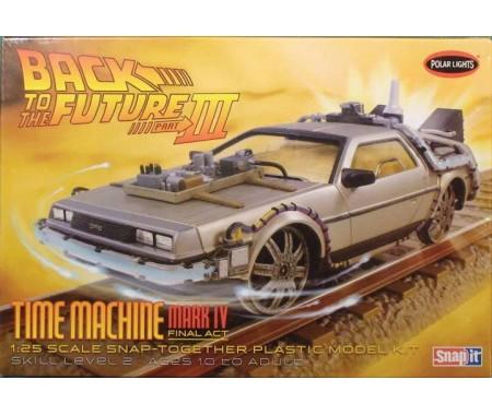 Back To the Future III Delorean Time Machine Mark IV
