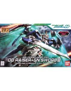 HG GN-0000+GNR-010 00 Raiser + GN Sword III