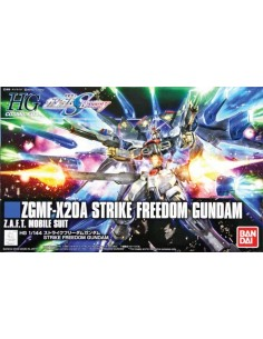 HG ZGMF-X20A Strike Freedom Gundam