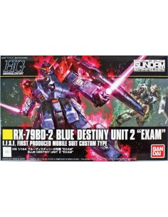 "HG RX-79BD-2 Blue Destiny Unit 2 ""Exam"""