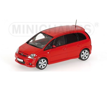 minichamps opel meriva opc 2006 red. Black Bedroom Furniture Sets. Home Design Ideas