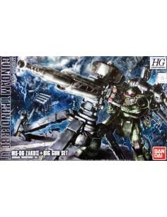 HG MS-06 Zaku II & Big Gun Set