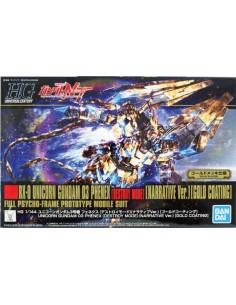HG RX-0 Unicorn Gundam 03 Phenex (Destroy Mode) Narrative ver. Gold Coating