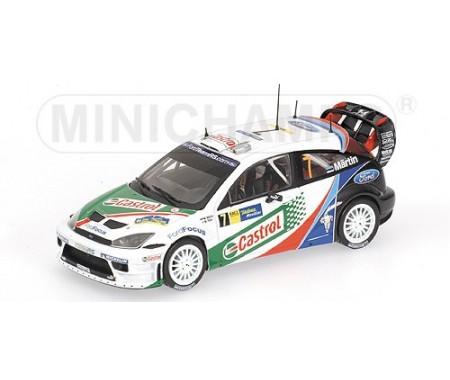 FORD FOCUS RS WRC - MAERTIN/PARK - WINNERS RALLY CATALUNYA 2004