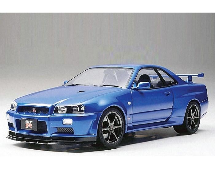 Tamiya - 24258 - Nissan Skyline GT-R V-Spec II (R34)  - Hobby Sector