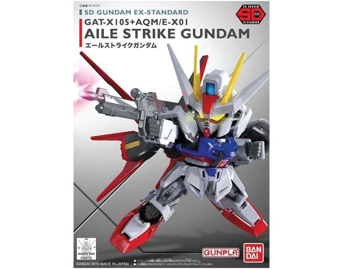 SD GAT-X105 + AQM/E-X01 Aile Strike Gundam