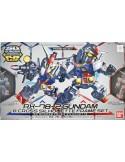 SD RX-78-2 Gundam & Cross Silhouette Frame Set
