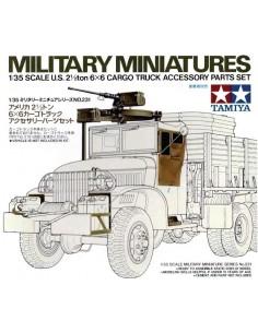 U.S. 2 1/2 ton 6x6 Cargo Truck Accessory Parts Set