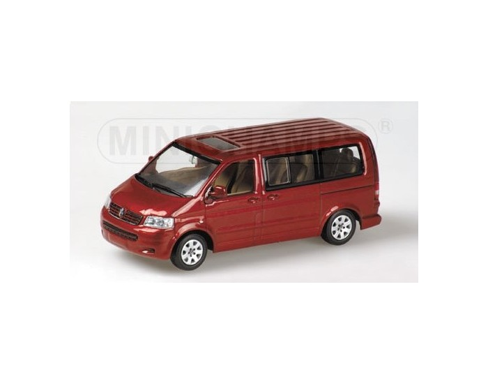 VOLKSWAGEN T5 MULTIVAN - 2003 - RED METALLIC