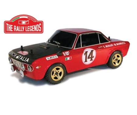 Lancia Fulvia HF 1600 Painted Body with Decals