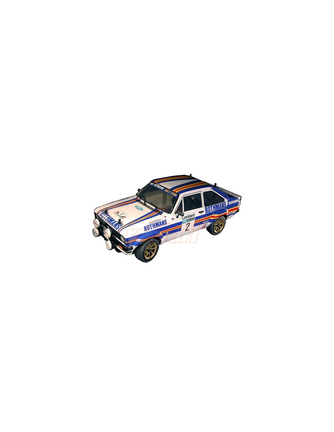 Rally Legends FORD ESCORT RS 1800 PAINTED BODY with Decals