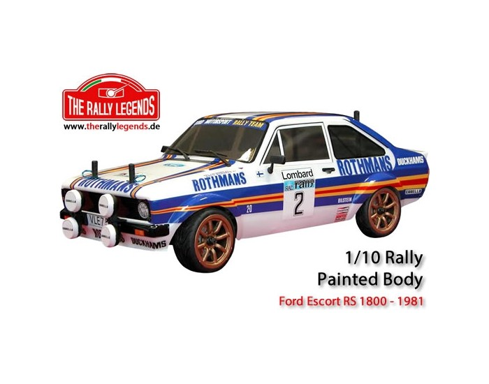 FORD ESCORT RS 1800 PAINTED BODY KIT with Decals