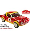 FIAT 124 ABARTH PAINTED BODY - RTR