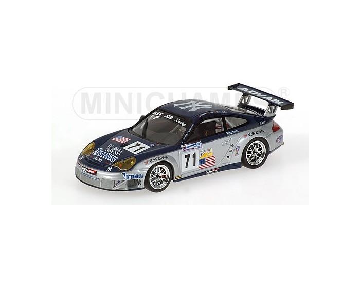 PORSCHE 911 GT3 RSR - HINDERY/ROCKENFELLER/LIEB - CLASS WINNERS - ALEX JOB RACING - 24H LE MANS 2005