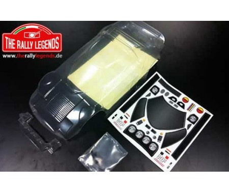 Lancia Stratos clear body