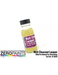 Matt Clearcoat Lacquer 60ml (pre-thinned)