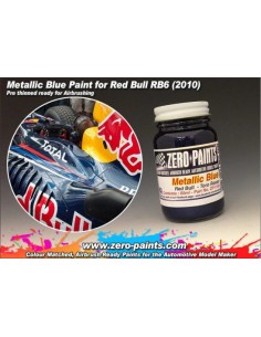 Red Bull RB6 Torro Rosso Metallic Blue 60ml