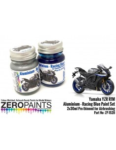 Yamaha YZR R1M Aluminium and Racing Blue - Set 30mlx2