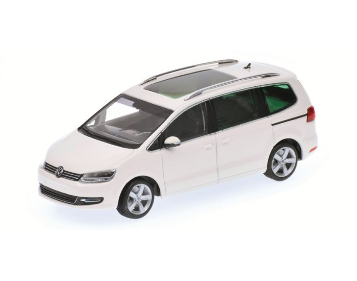 VOLKSWAGEN SHARAN - 2010 - WHITE