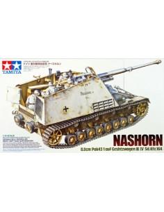 Tamiya - 35335 - NASHORN 8.8cm Pak43/1 auf Geschützwagen III/IV(Sd.Kfz.164)  - Hobby Sector
