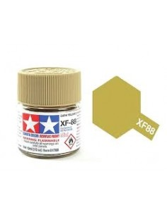 Tamiya - XF-88 - XF-88 Dark Yellow 2 - 10ml Acrylic Paint  - Hobby Sector