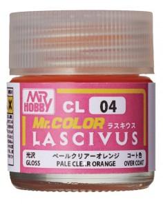 MrColor LASCIVUS Pale Clear OrangeRed 10ml