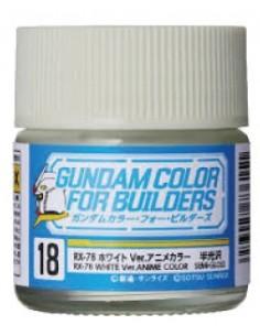 Gundam Color RX-78 White Ver. Anime Color 10ml