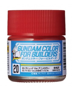 Gundam Color RX-78 Red Ver. Anime Color 10ml