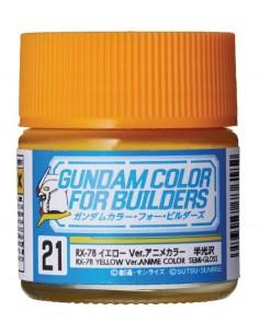 Gundam Color RX-78 Yellow Ver. Anime Color 10ml