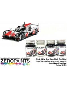 Toyota TS050 Hybrid Gazoo Racing Set 30mlx4