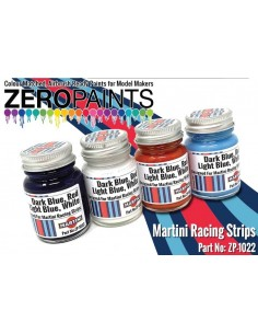 Martini Racing Colour Paint Set 4x30ml