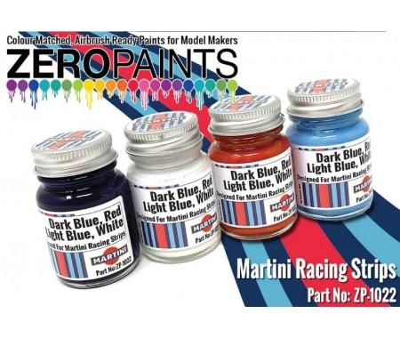 Martini Racing Colour Paint Set 4x30ml
