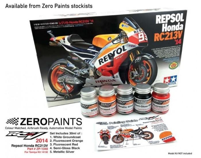 Repsol Honda RC213V 2014 Paint Set 5x30ml