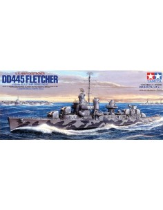 US Navy Destroyer USS DD-445 Fletcher