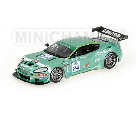 ASTON MARTIN DBRS9 - GROPPI/SEILER - TEAM BMS SCUDERIA ITALIA - FIA GT3 RACE SPA 2006