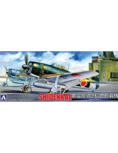 Aoshima - 011713 - Kawanishi NIK3-Ja SHIDENKAI  - Hobby Sector