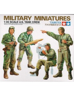 Military Miniatures U.S. Tank Crew