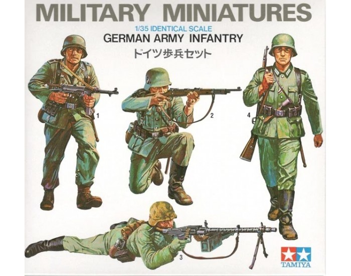 Military Miniatures German Army Infantry
