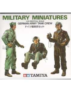 Military Miniatures German Army Tank Crew