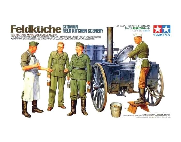Feldküche German Field Kitchen Scenery