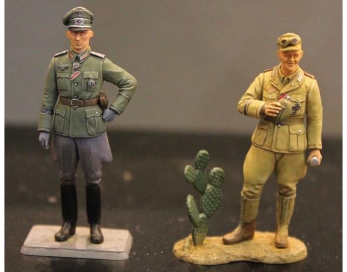 Military Miniatures German Motorcycle Orderly Set
