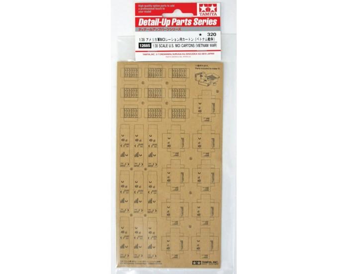 1/35 Scale U.S. MCI Cartons (Vietnam War)