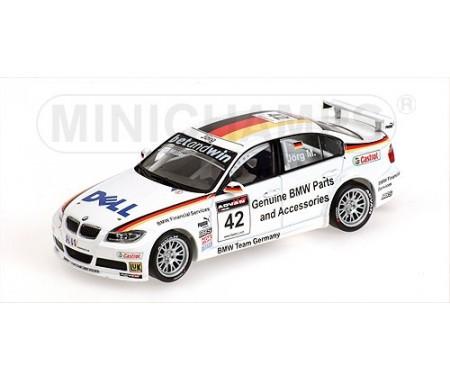BMW 320SI - JÖRG MÜLLER - WINNER RACE 2 OSCHERSLEBEN - BMW TEAM GERMANY - WTCC 2006