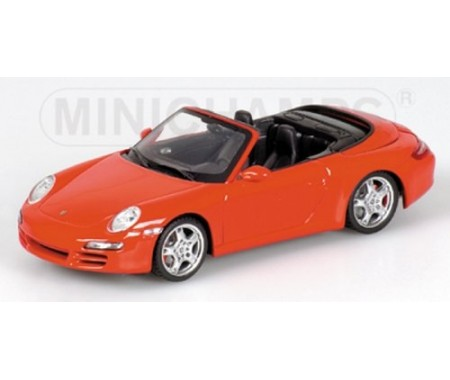 PORSCHE 911 CARRERA S CABRIOLET - 2005 - RED