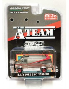 GMC VANDURA 1983 THE A TEAM Van Chrome Edition