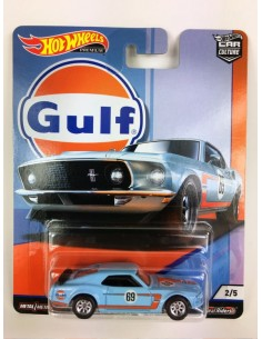 Real Riders - Ford Mustang Boss 302 Gulf Series