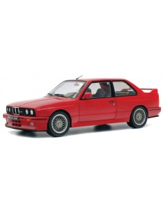 Solido - S1801502 - BMW M30 E30 Red 1986  - Hobby Sector