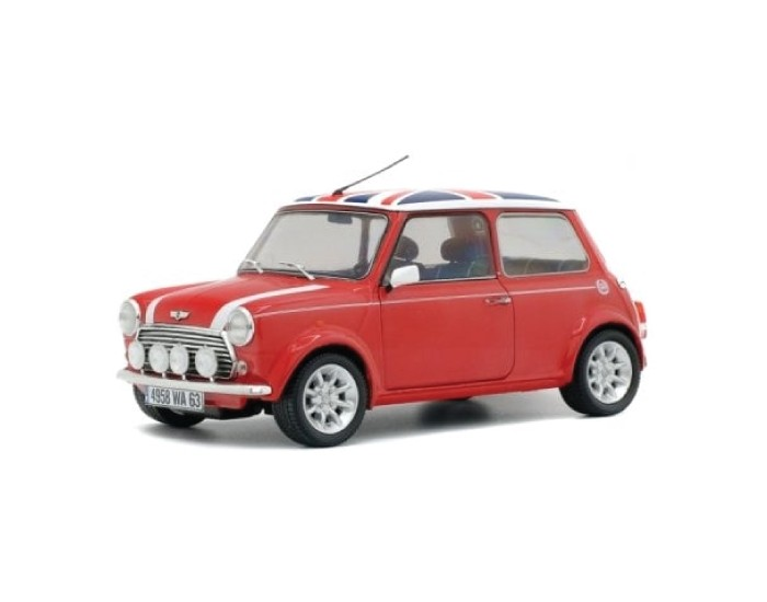 MINI COOPER SPORT 1997 - RED with UK FLAG