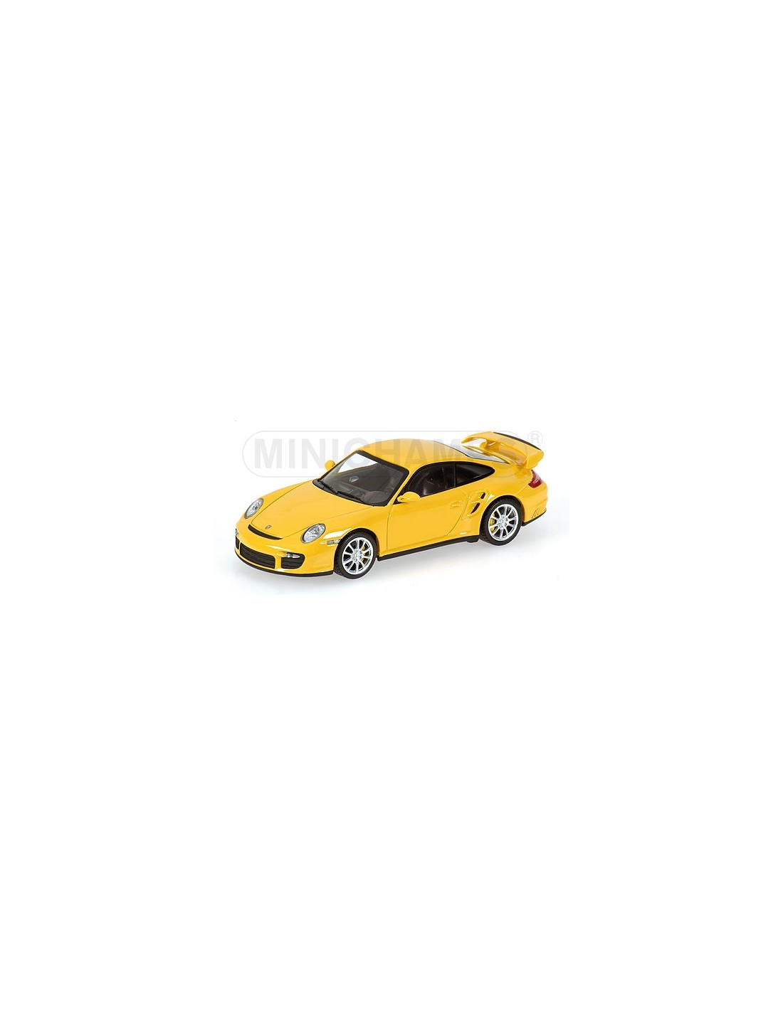 minichamps porsche 911 gt2 2007 yellow. Black Bedroom Furniture Sets. Home Design Ideas